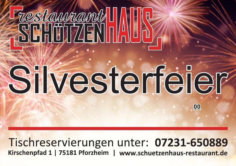 Silvesterparty Pforzheim